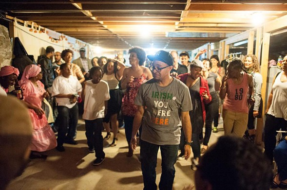 Artists and activists open up their homes for the Chicago Home Theater Festival. - WILLIAM CAMARGO