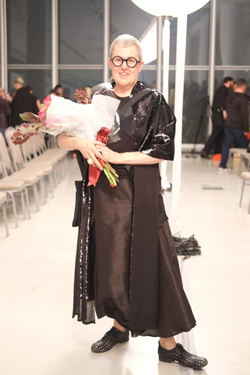 SAIC professor and accessory designer Gillion Carrara was an honoree this year. She will be leaving her position as the director of the Fashion Resource Center to dedicate more time to her designs. - ISA GIALLORENZO