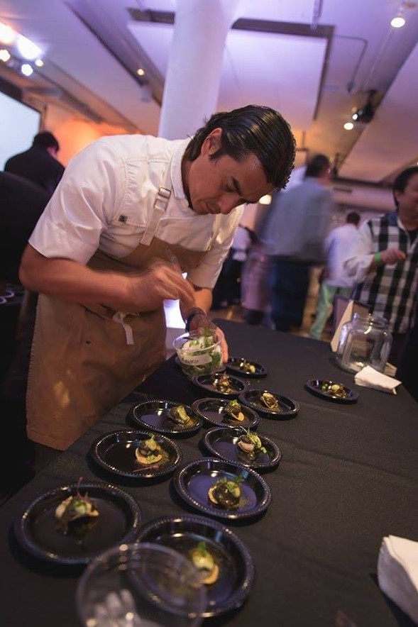 Chefs honor their mentors at the Reader's Key Ingredient Cook-Off.