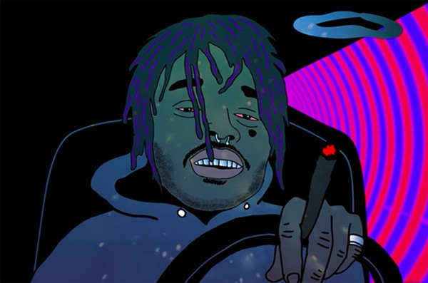 "A still from Lil Uzi Vert's video for ""XO TOUR Llif3"""