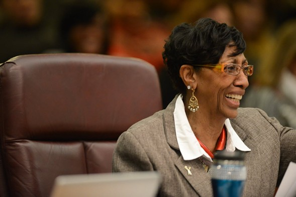 Alderman Carrie Austin during a City Council meeting in 2016 - BRIAN JACKSON/ FOR THE SUN-TIMES