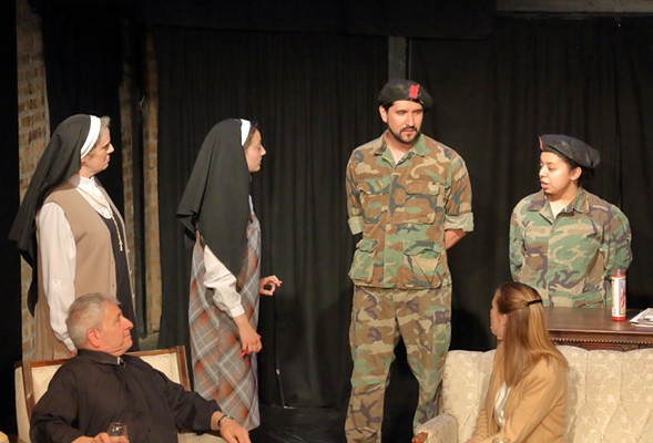 Subtext Theater Company's A Prayer for the Sandinistas - JOHN OSTER