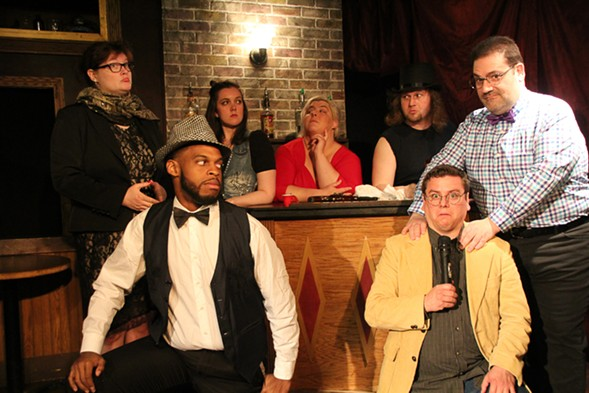 The Karaoke Murder Mystery Extravaganza, at the Public House Theatre - TIMOTHY SCHMIDT