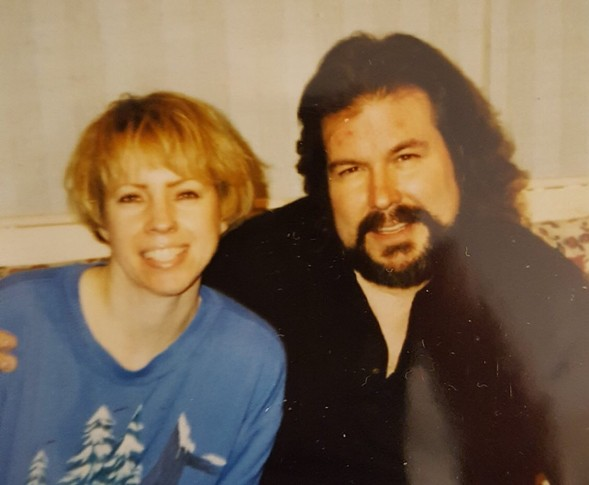 Jan and Mark in the late 80s
