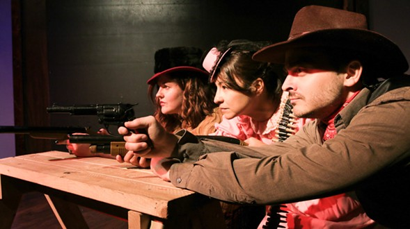 The Best Western This Side of the Mississippi, at Public House Theatre - MATTHEW MAHAFFEY