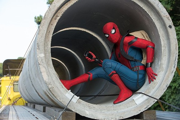 Spider-Man is a high school teen in Homecoming.