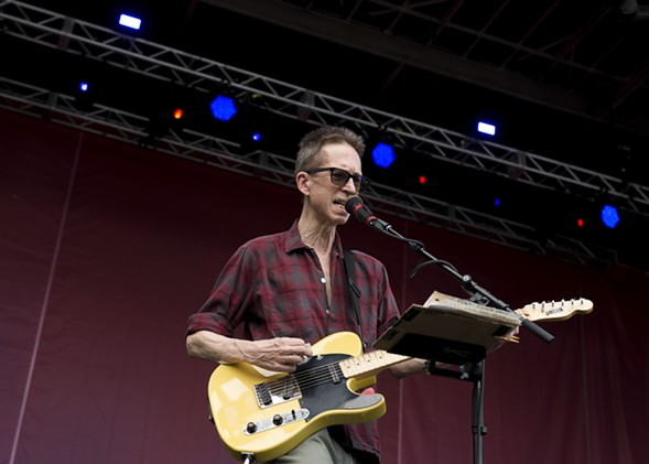 Founding Feelies guitarist Glenn Mercer - PORTER MCLEOD