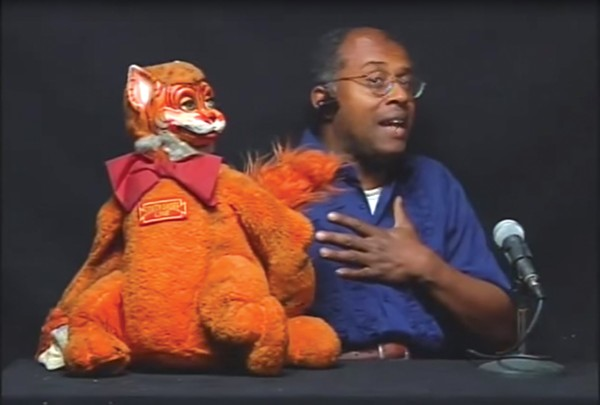 Amateur puppeteer David Liebe Hart was a regular on Tim and Eric Awesome Show, Great Job!