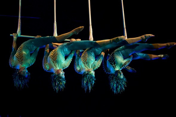 Witness stunning acrobatics at Cirque Du Soleil: Luzia at the United Center starting July 21. - MARIANA OLIVER