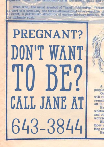 A newspaper ad for Jane - COURTESY PLANNED PARENTHOOD