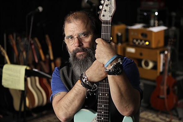 Steve Earle and the Dukes brings country-tinged tunes to the Old Town School of Folk Music Tuesday 7/25. - COURTESY OF THE ARTIST