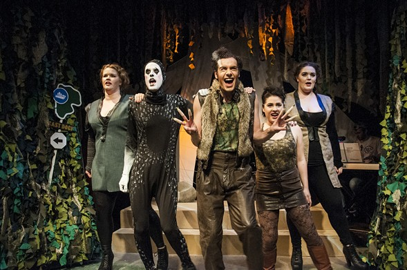 Circle Theatre's Triassic Parq: The Musical - FLAMING CITY PHOTOGRAPHY