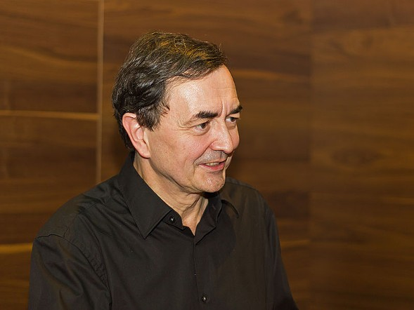 Pianist Pierre-Laurent Aimard tickles the ivories at Ravinia's Martin Theater Monday 7/31. - A.SAVIN