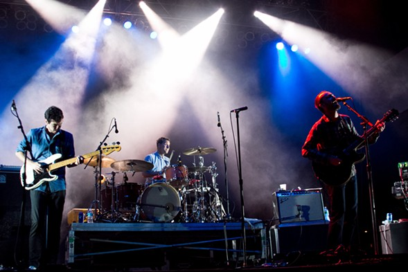 The Shins (pictured) and Mt. Joy share their indie rock at the Vic Saturday 5. - CAITLYN RIDENOUR