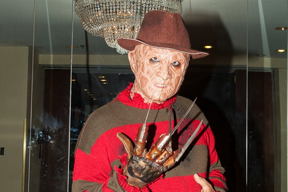 Meet the biggest, beastiest stars of scary movies at Chicago Horror Con Friday 4-Sunday 6. - COURTESY OF CHICAGO HORROR CON