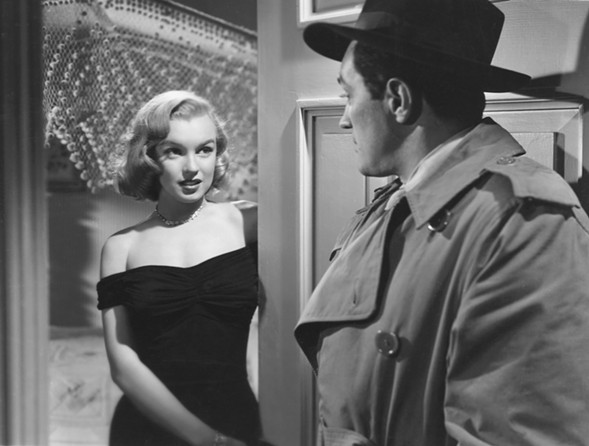 See Marilyn Monroe in The Asphalt Jungle at the Music Box's Noir City: Chicago 9 film festival Thursday 8/31. - CREATIVE COMMONS