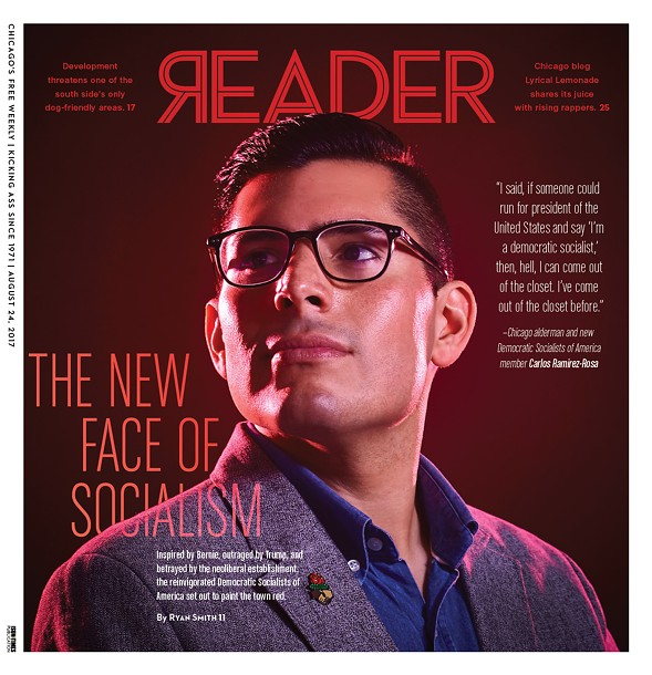 The cover of last week's Reader