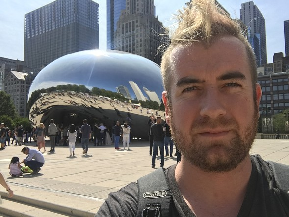 Eric Barry's last Chicago selfie - HUFFINGTON POST