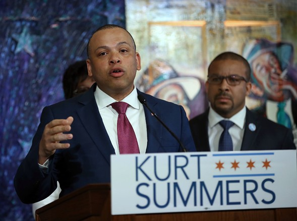 City treasurer Kurt Summers - KEVIN TANAKA/FOR THE SUN-TIMES