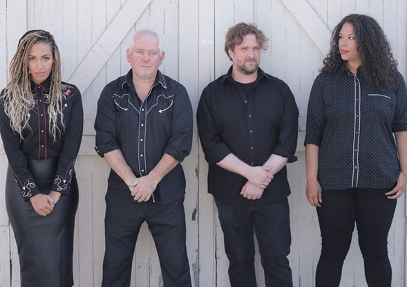 Four Lost Souls: Tawny Newsome, Jon Langford, John Szymanski, and Bethany Thomas - MIKE KOSINSKI