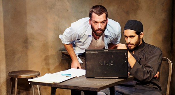 Steep Theatre's The Invisible Hand - LEE MILLER
