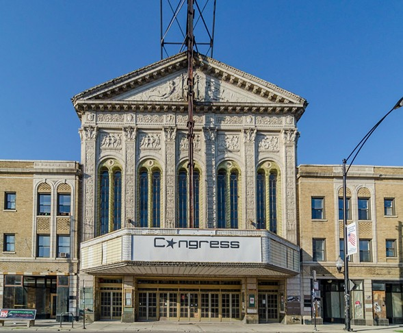 The Congress Theater is just one of the many sites you can check out this weekend as part of the Chicago Architecture Foundation's Open House Chicago. - ERIC ALLIX ROGERS