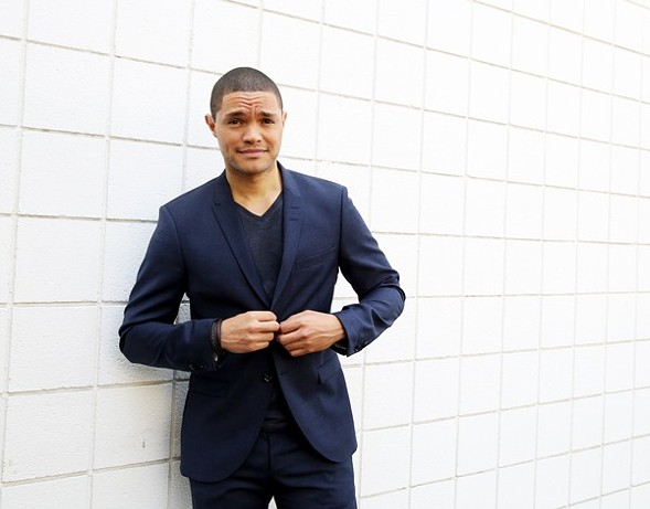 Trevor Noah hosts a week of The Daily Show at the Athenaeum Theater.
