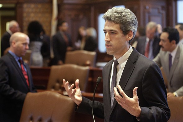 Illinois senator and Democratic gubernatorial candidate Daniel Biss - AP PHOTO/SETH PERLMAN FILE