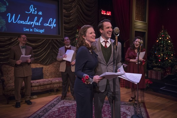 American Blues Theater's It's a Wonderful Life: Live in Chicago! - MICHAEL BROSILOW