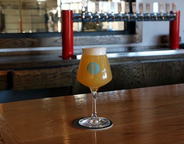 Fluffy Bottoms, a lactose pale ale that will be on tap at Maplewood Lounge - JULIA THIEL