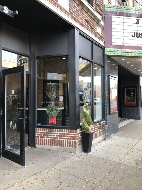 The new jewelry store is located right next to the Logan Theatre, on 2644 1/2 N Milwaukee. - ISA GIALLORENZO