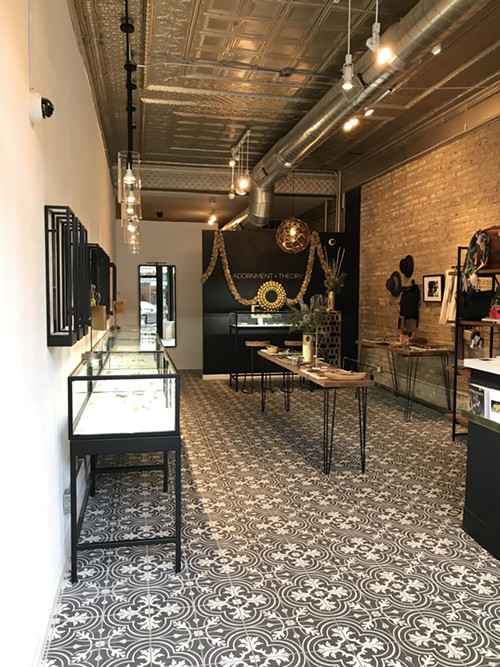 """A """"jewelry bar"""" where customers can design unique pieces is located at the back of the store. - ISA GIALLORENZO"""