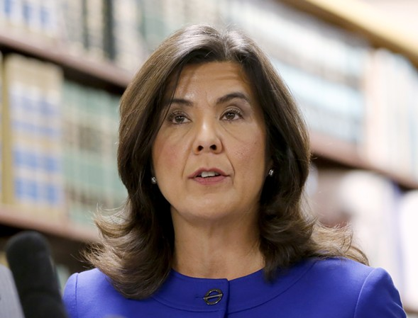 Former Cook County state's attorney Anita Alvarez - AP PHOTO/CHARLES REX ARBOGAST, FILE