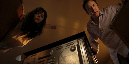Selma Blair and Nicolas Cage in Mom and Dad