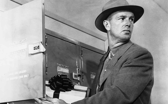 Sterling Hayden in Stanley Kubrick's The Killing