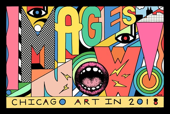 "The group exhibit ""Images Now! Chicago Artist Showcase"" features work by 11 artists. - COURTESY OF MAC BLACKOUT"