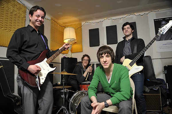 The Kickback in 2012, with front man Billy Yost in green - DOM NAJOLIA/SUN-TIMES MEDIA