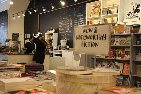 Volumes Bookcafe isn't just a bookstore, it's a community hub. - MADELINE HAPPOLD