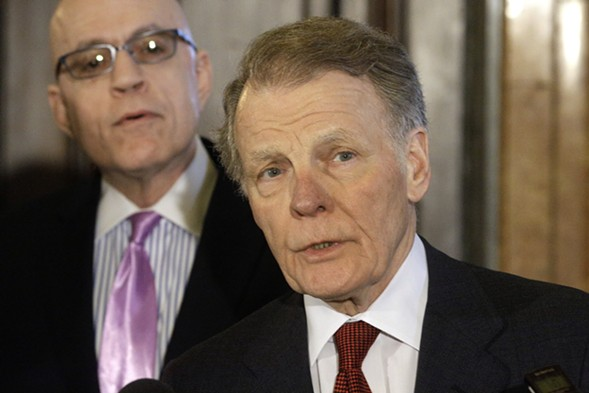 Illinois house speaker Mike Madigan - AP PHOTO/SETH PERLMAN