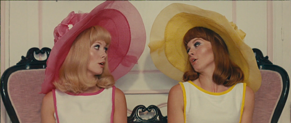 Catherine Deneuve and Françoise Dorléac in Jacques Demy's The Young Girls of Rochefort
