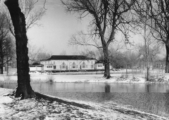 The Sherman Park lagoon and field house - RICH CHAPMAN