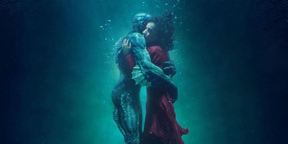 Doug Jones and Sally Hawkins in The Shape of Water - FOX SEARCHLIGHT PICTURES