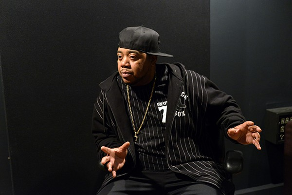 Twista during an interview in March 2016 - PHOTO FOR THE SUN-TIMES BY BRIAN JACKSON