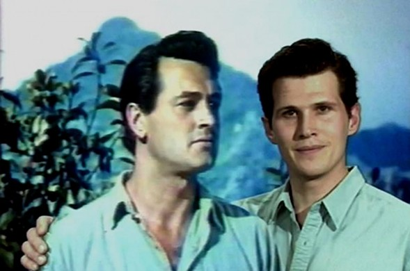 Eric Farr (and Rock Hudson) in Mark Rappaport's Rock Hudson's Home Movies