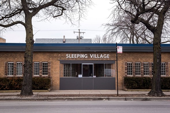 Outside Sleeping Village - CHRIS DILTS
