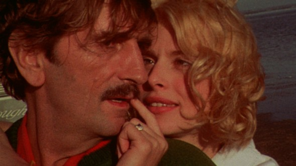 Harry Dean Stanton and Nastassja Kinski in  Paris, Texas
