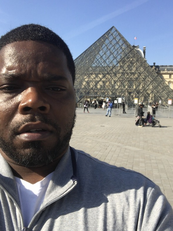 DJ Clent at the Louvre - COURTESY THE ARTIST