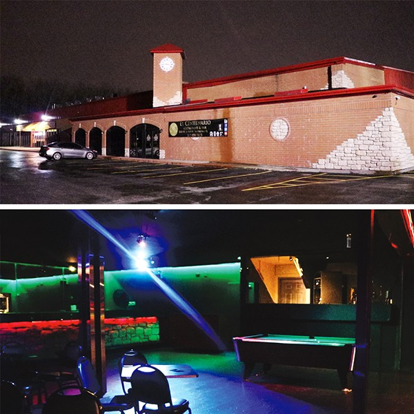 Top: The former home of Adrianna's. Bottom: DJ Reese, Tink's DJ, used to spin at Adrianna's in the booth that's still there behind the pool table. - VIDEO STILLS BY MORGAN ELISE JOHNSON