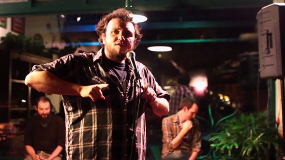 Weed-forward comic Sam Tallent lights up the Comedy Bar at 8 and 11:30 PM. - YOUTUBE