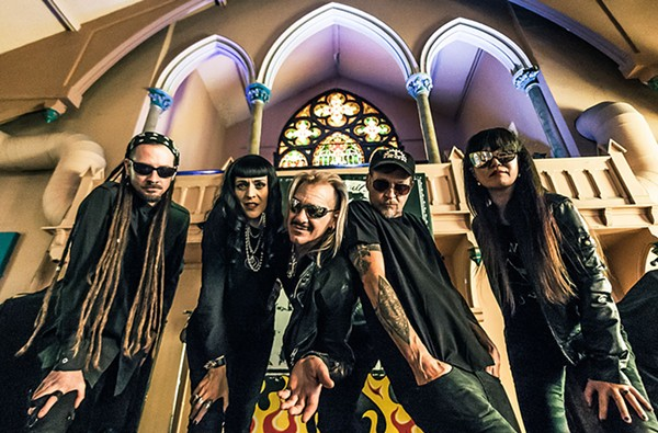 My Life With the Thrill Kill Kult play Berwyn club Wire on April 28 and 29. - SHAWN WISEMAN/ROCK ALL PHOTOGRAPHY